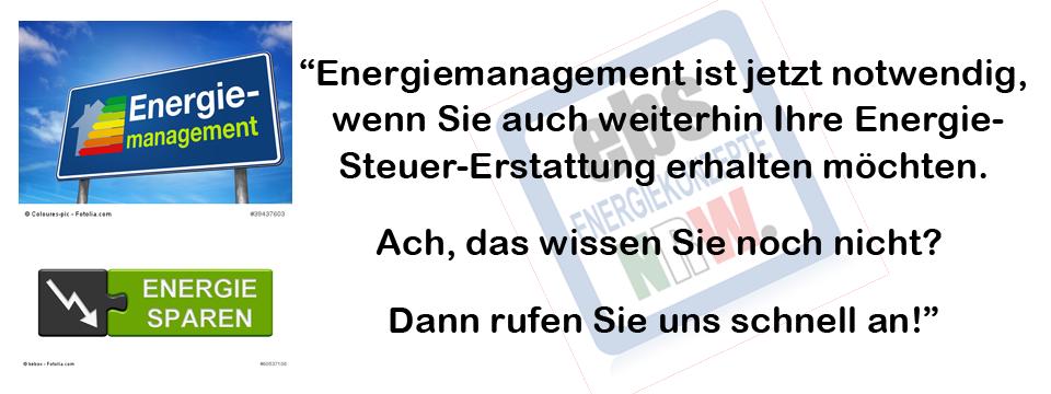 Energie-Management ist nützlich!
